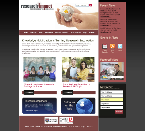 ResearchImpact's new look