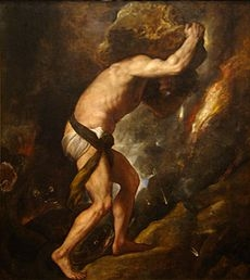 Tiziano's Sísifo