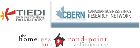 Tiedi, CBERN and Homeless Hub