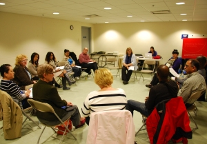 Participants at a United Way York Region community event