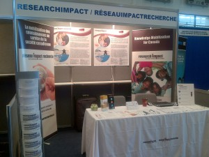 ResearchImpact booth